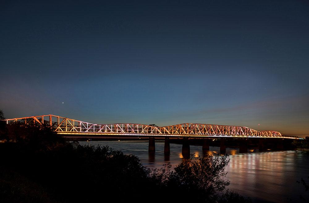 The Chicago Athenaeum Harahan Bridge Big River