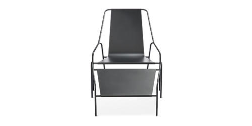 Strange The Chicago Athenaeum Posture Chair And Ottoman For The Download Free Architecture Designs Rallybritishbridgeorg